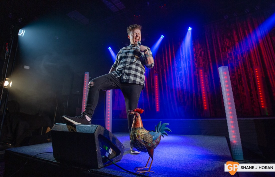 The CoCo Christmas Comedy Show pt1, Sinead Walsh, Kino, Cork, Shane J Horan, 20-12-20-5