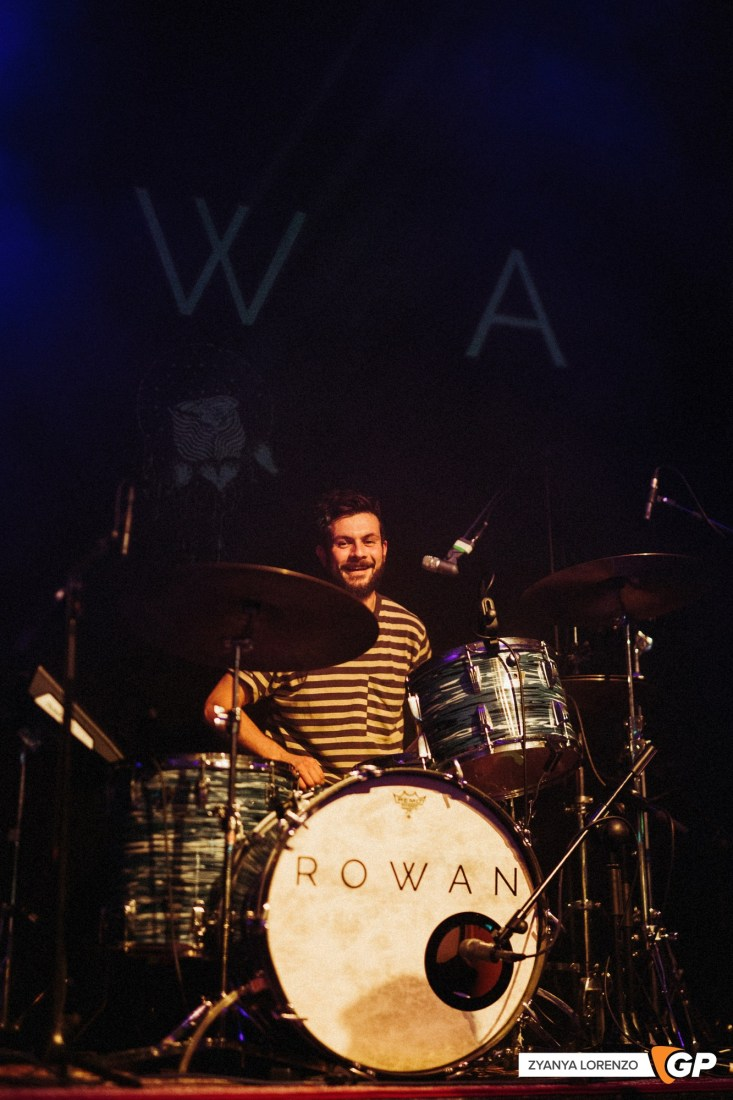 Rowan live at The Button Factory photographed by Zyanya Lorenzo.