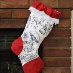Another Scientific Seamstress Inspired Stocking