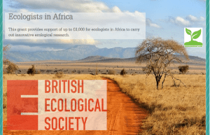 British Ecological Society (BES) Grants 2021 for Ecologists in Africa