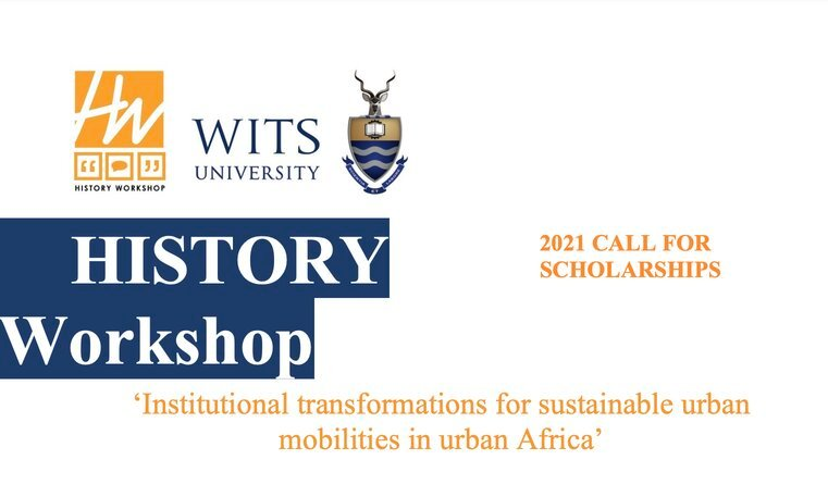 Wits History Workshop Masters Research Fellowships 2021