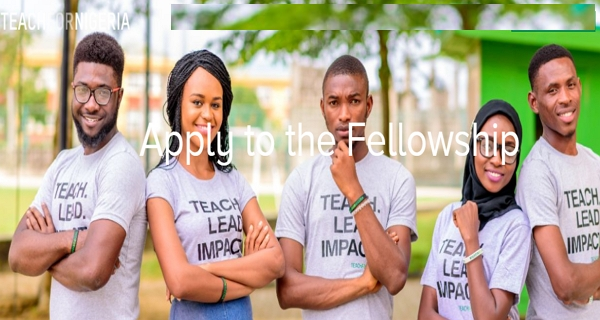 Teach for Nigeria Fellowship 2021 for University Graduates and Young Professionals