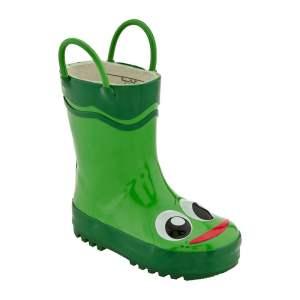 Western Chief   Frog Rain Boot - Green  $35