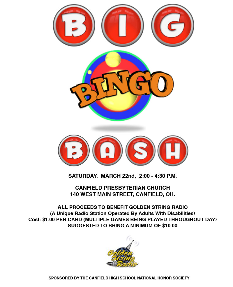 Golden String Radio Big Bingo Bash 2014