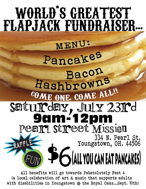Pabsolutely Fest IV Pancake Dinner Fundraiser