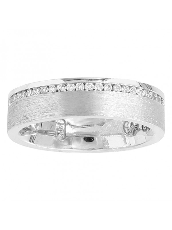 Brushed Band Mens Rings Rings Jewelry