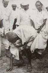 Gandhi at Dandi