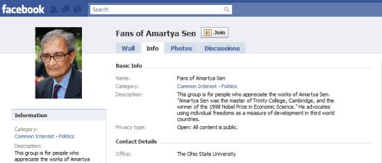 Amartya Sen Group