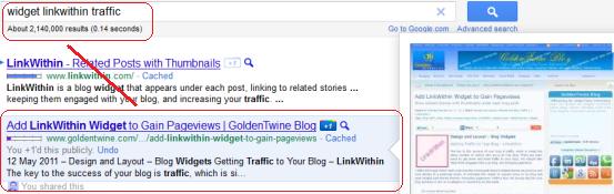Google Search Rank 2