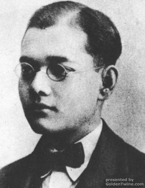 Subhas Bose as a student in England
