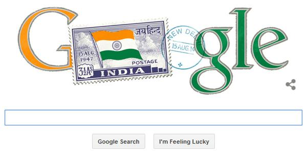 Tricolor Google Doodle