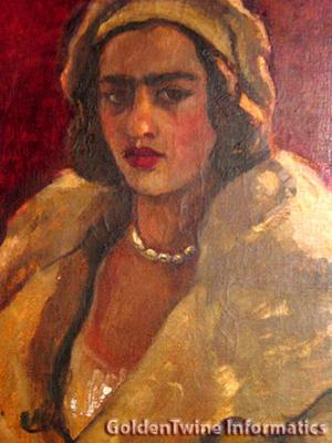 Amrita Sher-Gil Painting