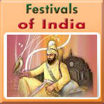 Indian Festival of Guru Gobind Singh Jayanti