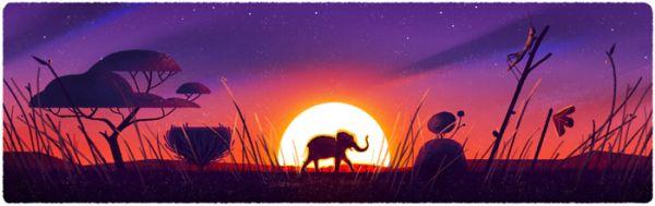 Grasslands and Elephant