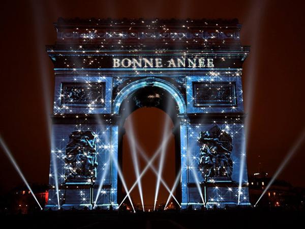 Arc de Triomphe, Champs Elysees, Paris