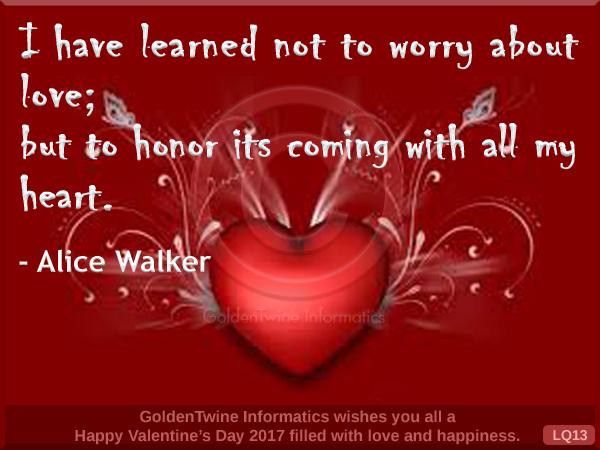 Graphic Love Quotes