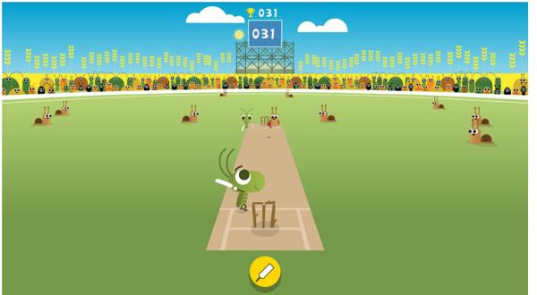 ICC Champions Trophy 2017 Google Doodle