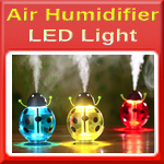 USB Air Ultrasonic Humidifier Night Light