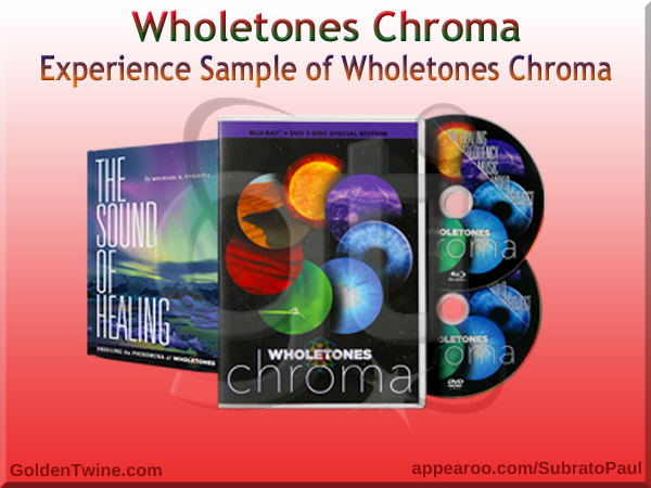 Experience Sample of Wholetones Chroma