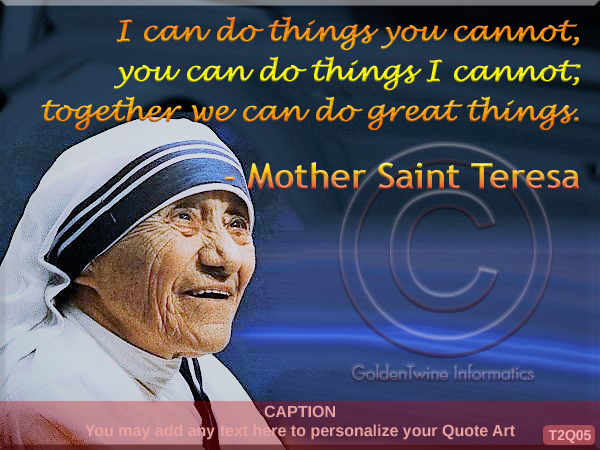 Mother Teresa Quote 5