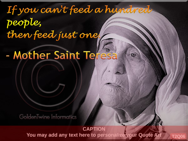 Mother Teresa Quote 6