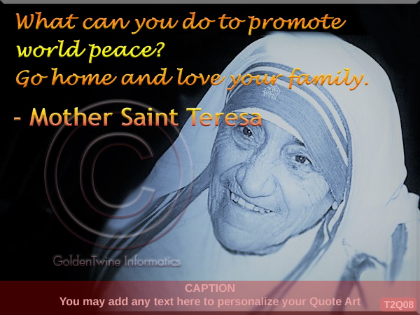 Mother Teresa Quote 8