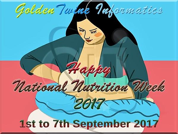 Happy National Nutrition Week 2017