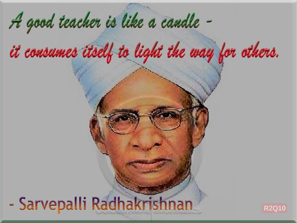 Sarvepalli Radhakrishnan Quote 10
