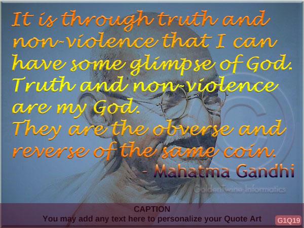 Mahatma Gandhi Quote G1Q19