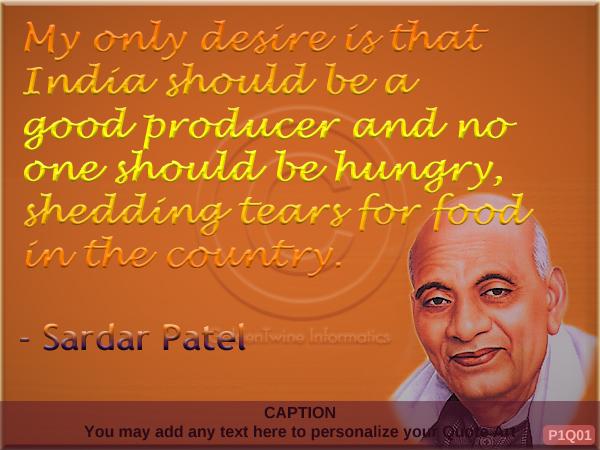 Sardar Patel Quote P1Q01