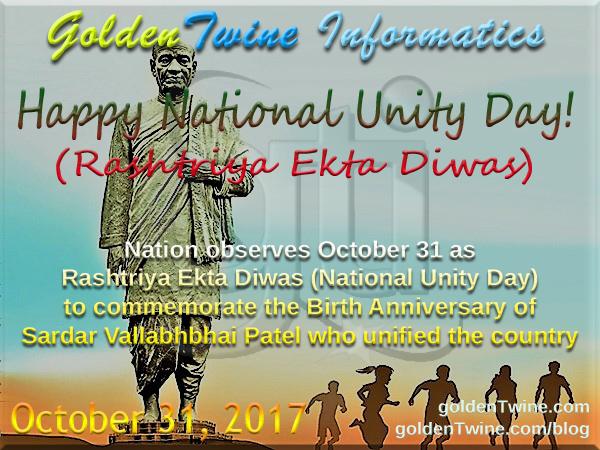 Rashtriya Ekta Diwas (National Unity Day)