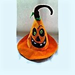 Evil Pumpkin Halloween Hat
