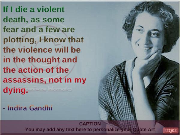 Indira Gandhi Ke Suvichar Quotes