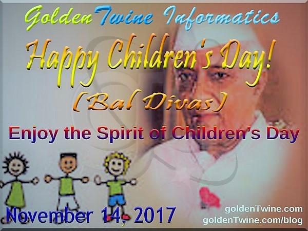 Bal Diwas (Children`s Day)