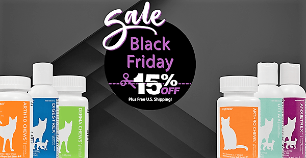 Black Friday Sale at Vetionx Natural Pet Health Products