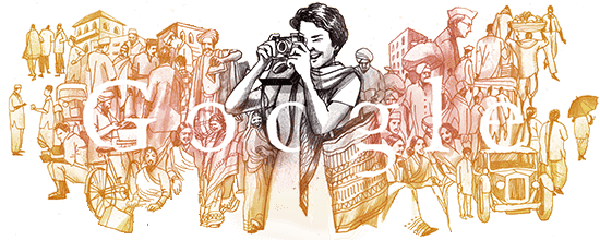 Homai Vyarawalla's 104th Birthday Google Doodle