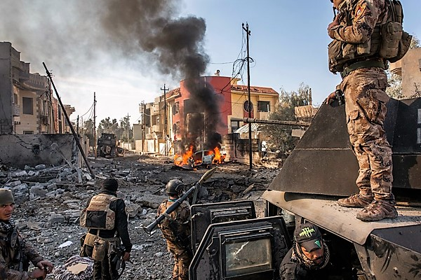 Memorable Photo - January 16, 2017. Mosul, Iraq