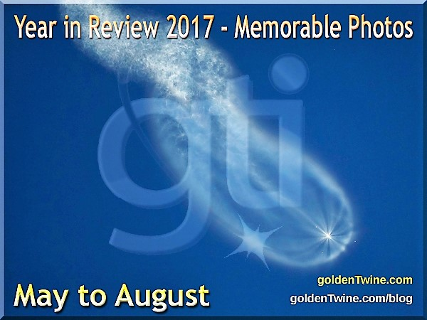 Memorable Photos — May to August 2017