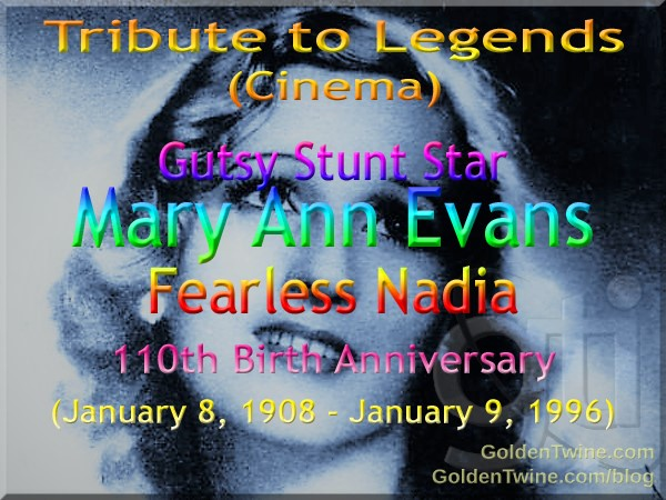 Tribute to Cinema Legends - Fearless Nadia