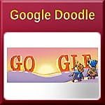 Google Doodle Celebrates Happy New Year's Day 2018
