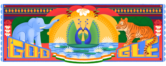 India Independence Day 2018 Google Doodle