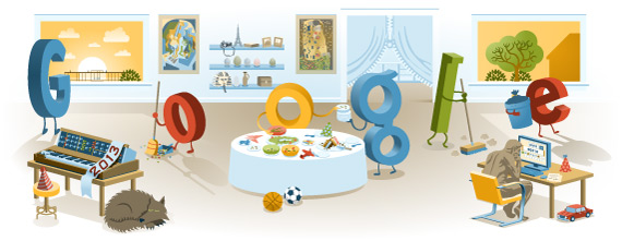 New Year's Day 2013 Google Doodle