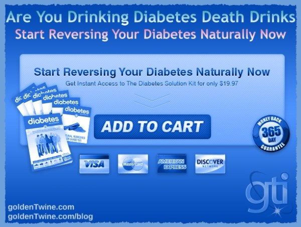 Are You Drinking Diabetes Death Drinks?
