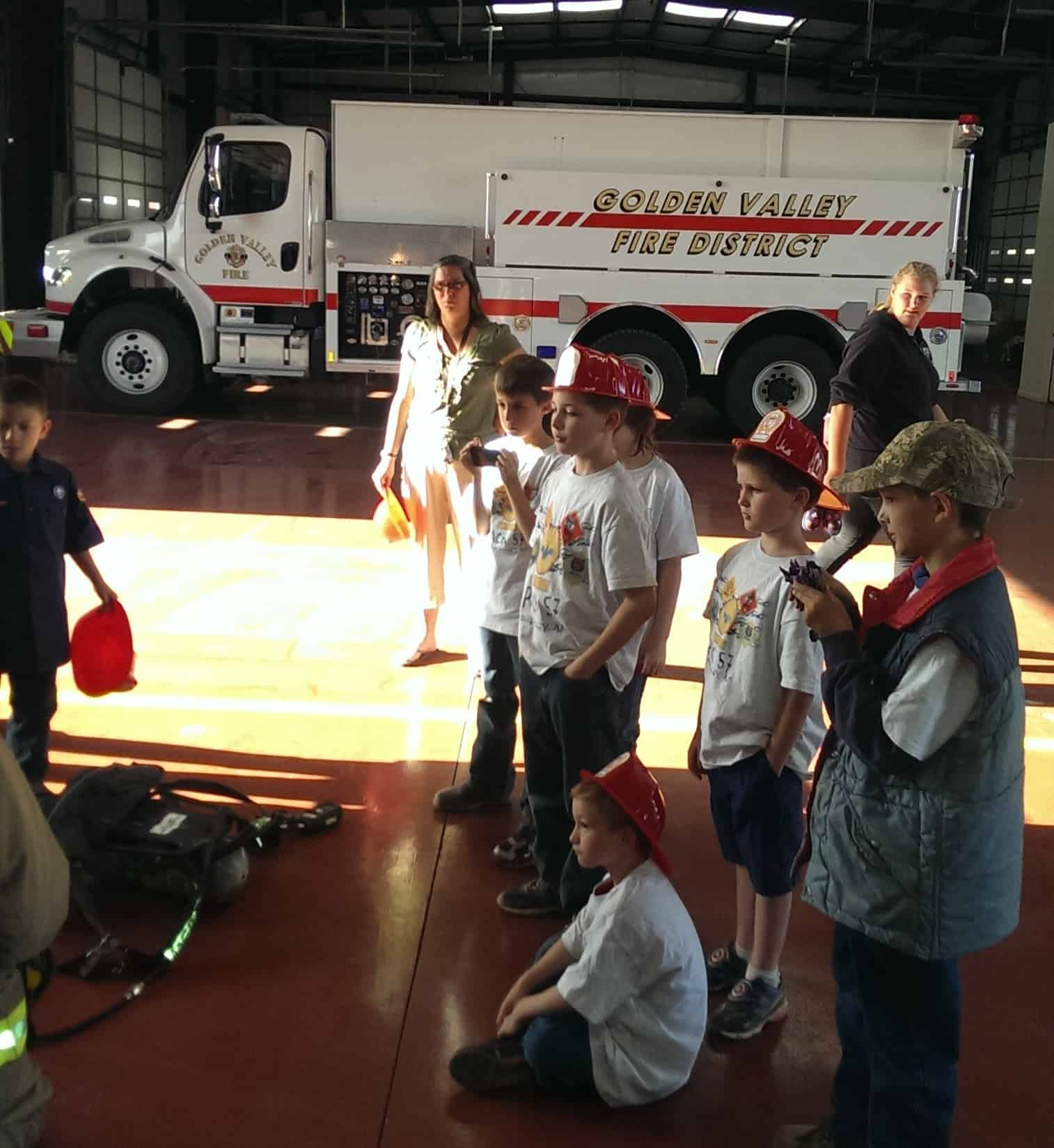 Cub Scouts Visit Fire Station 11 And Learn Fire Safety Gvfd