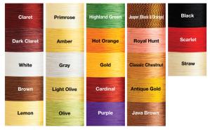 Pearsall's Gossamer Color Chart
