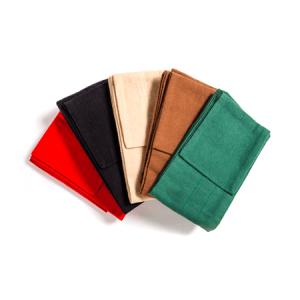 Flannel Rod Sacks, bags