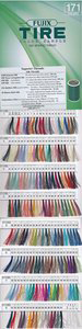 Tire #30 Silk Thread Color Card