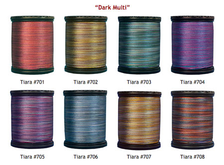 Tiara Dark Multi Colors