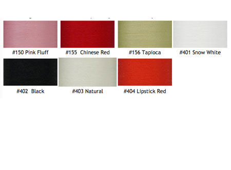 Tire #30 Silk Thread Colors