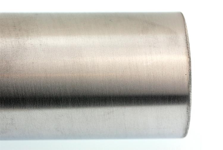 Aluminum tube with quick sanding job